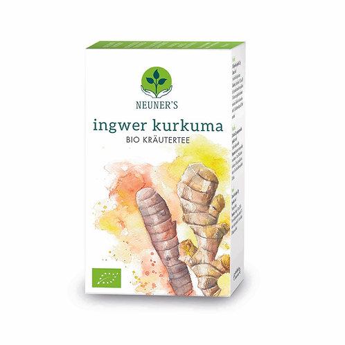 Neuner's Tee - Ingwer Kurkuma. 20 te-poser à 2g