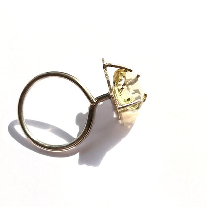 #PieceOfMe silver citrine ring