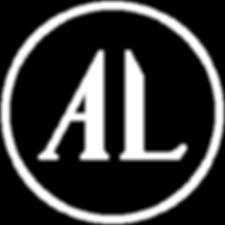 Anne Lehmann Logo Icon Circle - White on