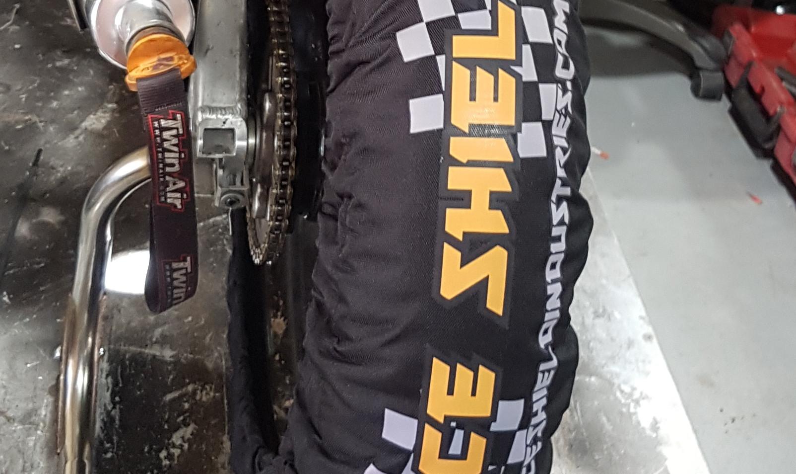 110/120 Tyre Warmer Set