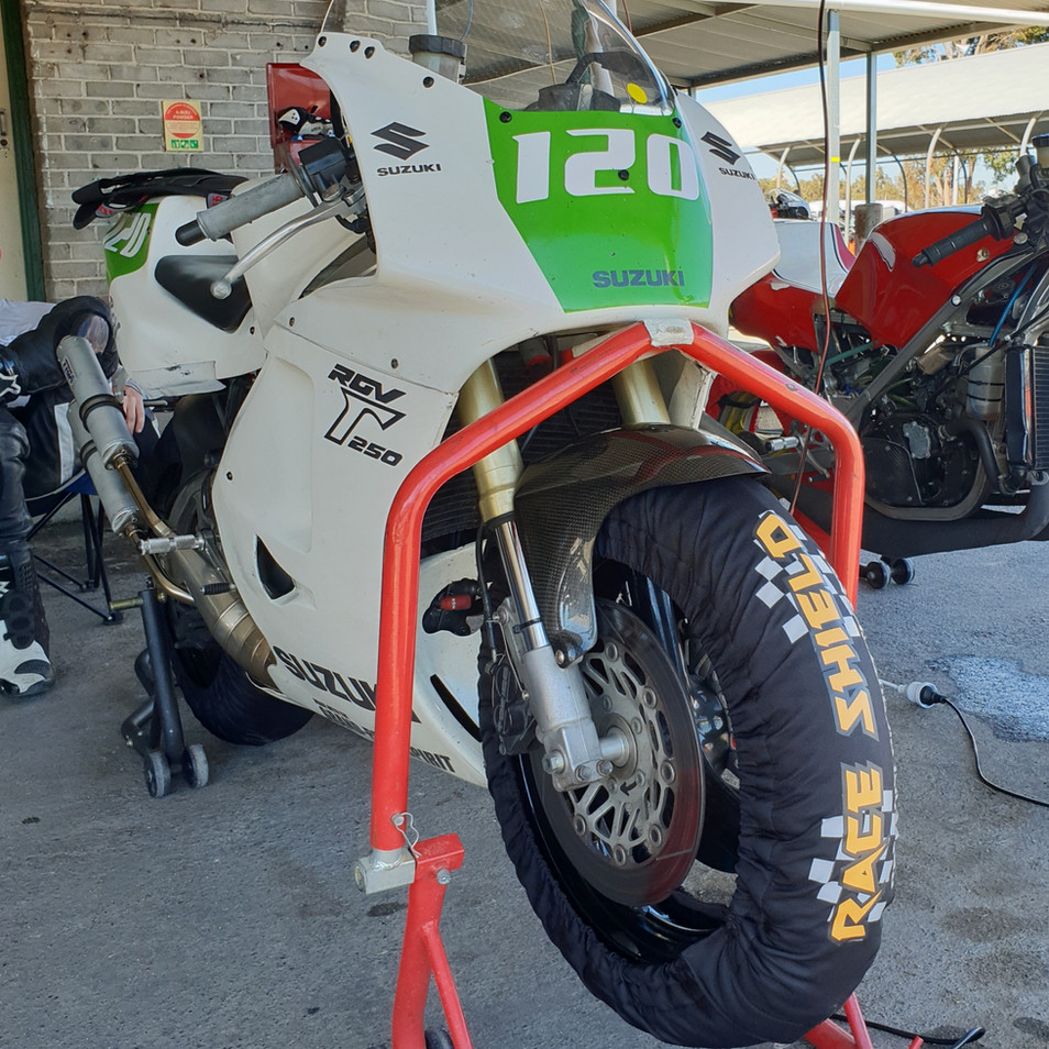 120/165 Tyre Warmer Set