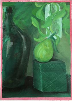 Studio Painting Green