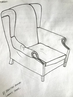 My Broken Leather Chair