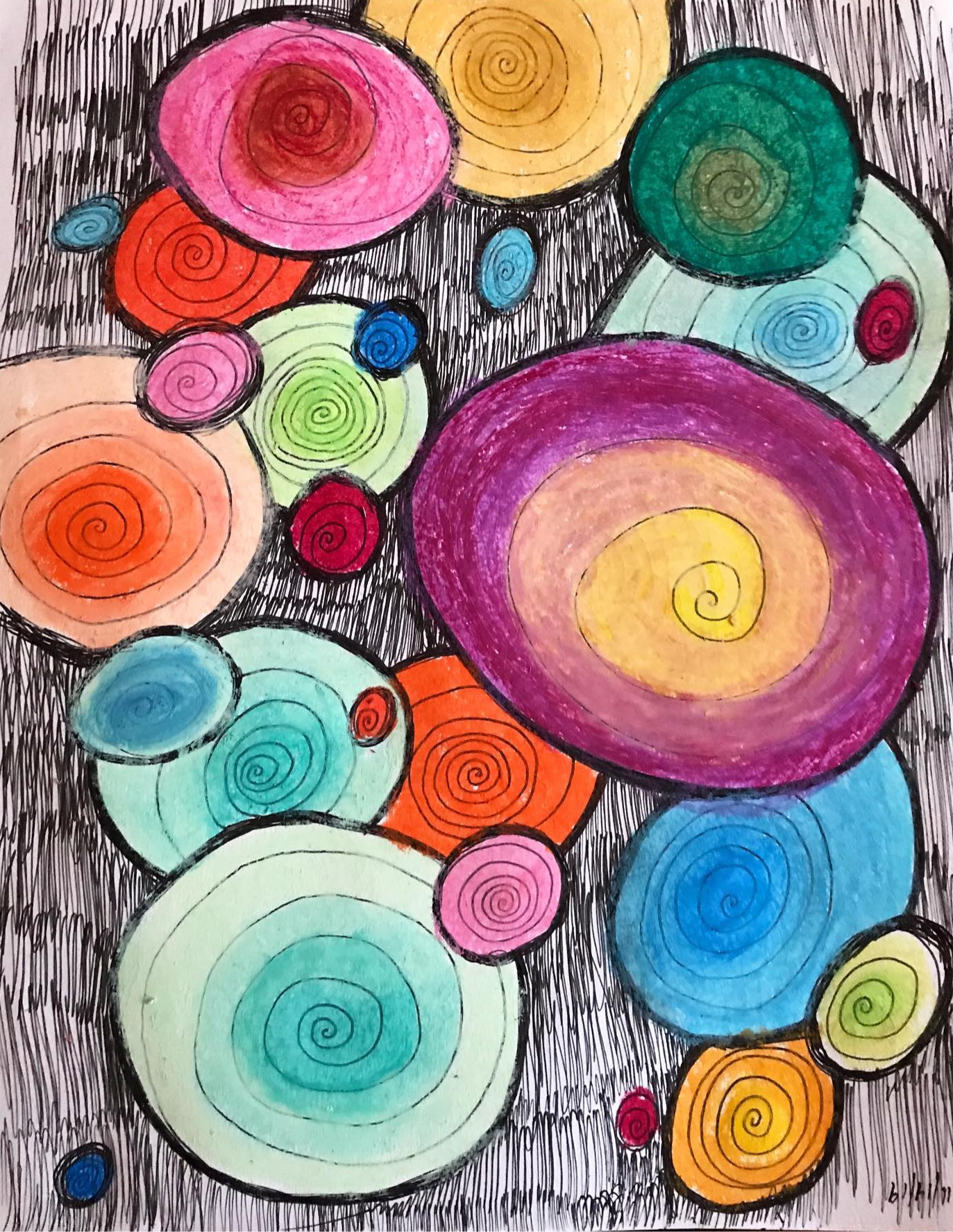 Sophomoric Swirls in Color