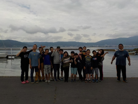 諏訪湖船舶海洋体験活動
