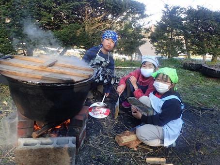 味噌玉作り!