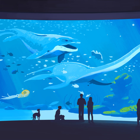 Dino Aquarium