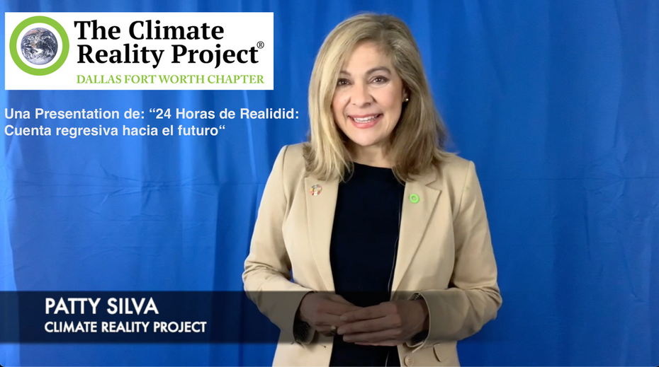 Climate Reality's Presentation in Spanish