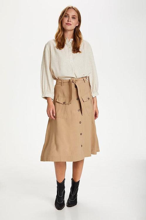Saint Tropez Doeskin Skirt
