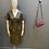 Thumbnail: Hanita leatherette dress