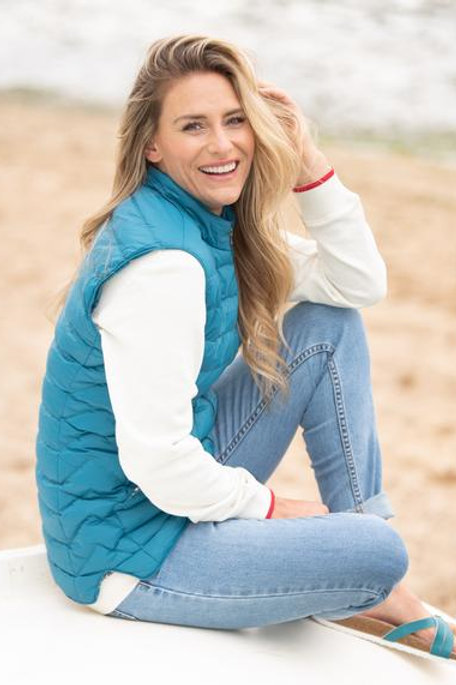 Lighted Quilted Gillet