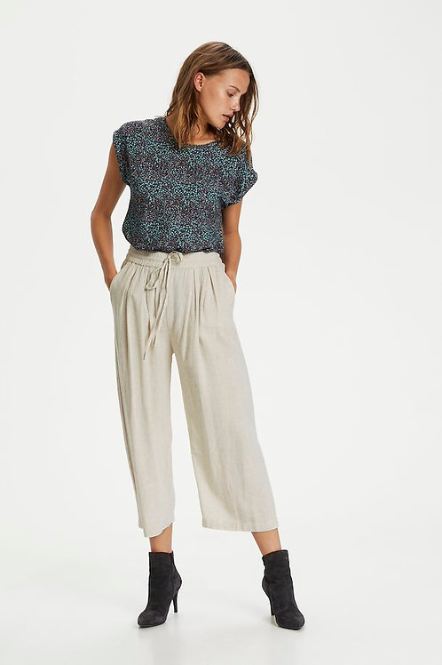 Linen Mix 7/8 trousers