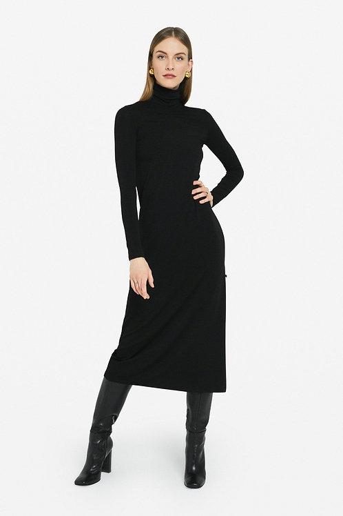 Stretch Viscous long Dress