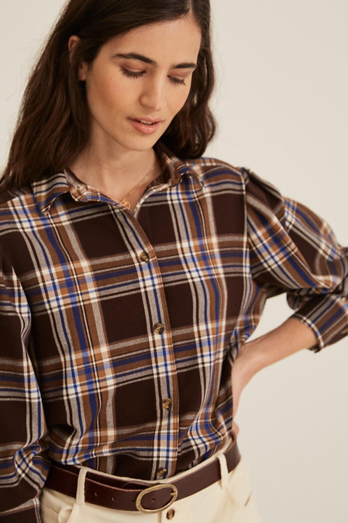 Long-sleeve Check Shirt