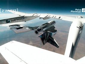 Fundo Cambial: Vai viajar? Agora temos a opção de ir ao espaço com a Virgin Galactic!