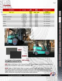 TireBooties Boom Lifts Part Information