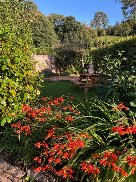 Private garden in Clifford