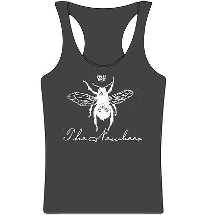 Queen Bee Gray Tank
