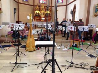 CD-Aufnahme Ceremony of Carols