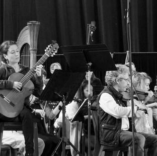 """Concert with""""Orchestre symphonique de Canet-en-Roussillon"""" (January 2016)"""