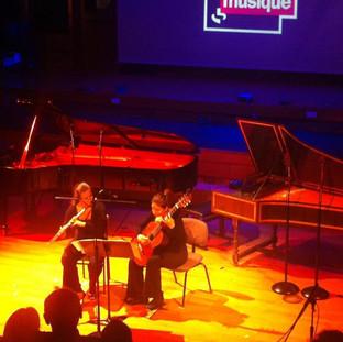 """Clariana in """"Plaisirs d'amour"""" de Frédéric Lodéon (""""Radio France Musique""""-Paris 2012)"""