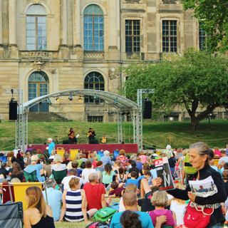Palais Sommer Dresden July 2019