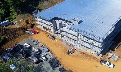 Drone Photograph of Construction Site