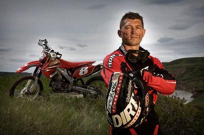 Honda Pro Enduro Racer Jason Schrage