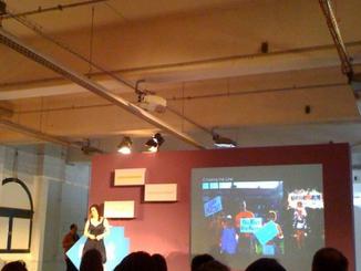 2009 Launching her company