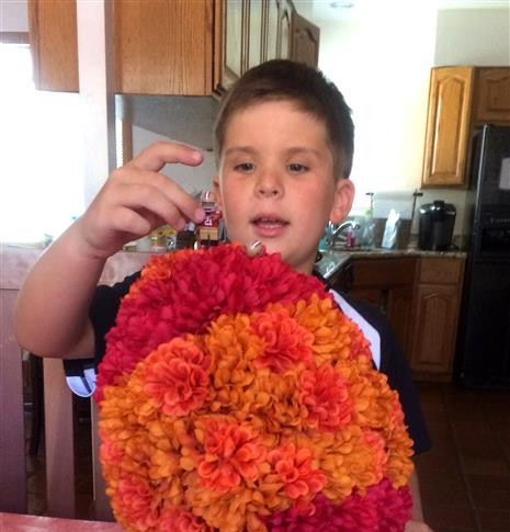 Jamie's 8th birthday, August 2014
