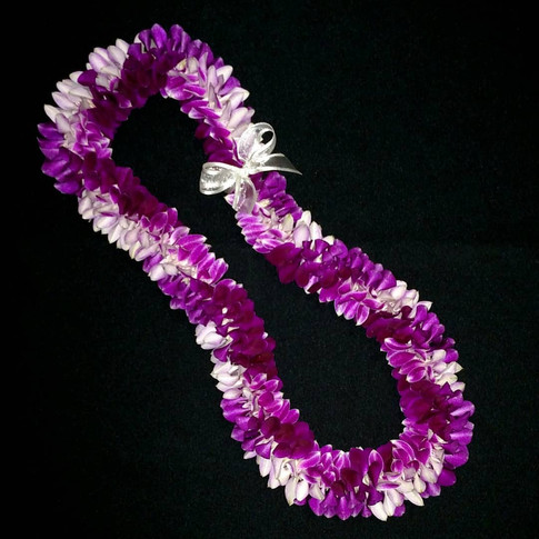 spiral orchid lei  ($80+)