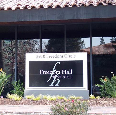 Freedom Hall & Gardens, Santa Clara