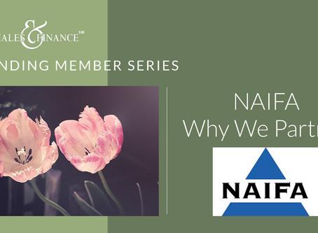 Founding Member Series - Why we partner with NAIFA