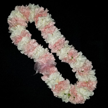 carnation lei ($60+)