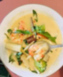 Shrimp green curry 🍛 #curry #healthyfoo
