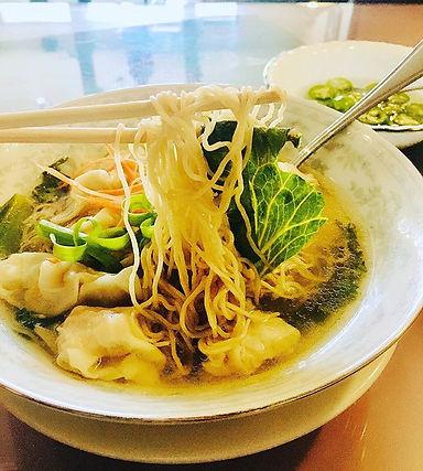 Pork and shrimp wonton noodle soup - onl
