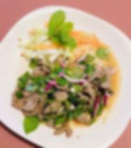 Thai beef salad 🥗 #kirkland # thaifood