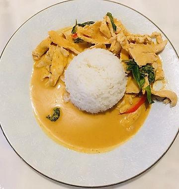 Chicken Panang Curry 12.95 at Thumra Tha