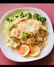 Shrimp fried rice #thaifood #kirkland #w