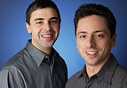 Larry Page & Sergey Brin founders of Goo