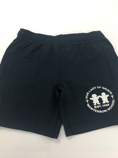 Boys Mesh Gym Shorts - NAVY