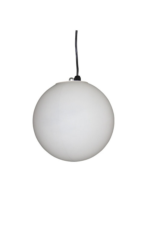LED sphere hanging lamp 30 cm