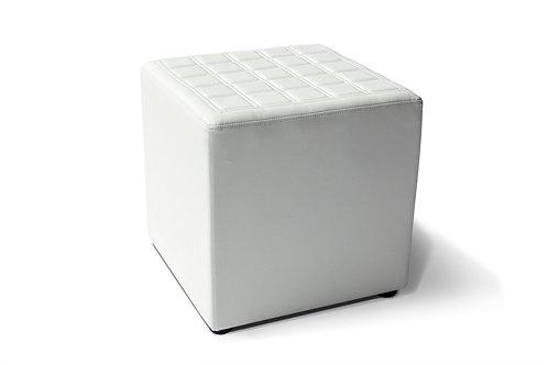 Lounge cube square white