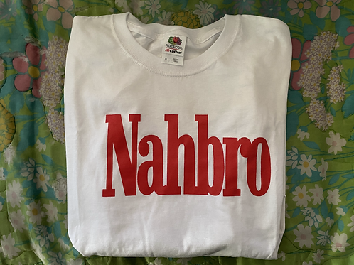 Nahbro White Long Sleeve (PRE-ORDER)