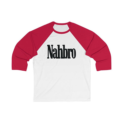 NAHBRO™ || Unisex 3/4 Sleeve Baseball Tee