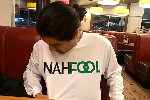 Nahfool White Long Sleeve (Pre-Order)
