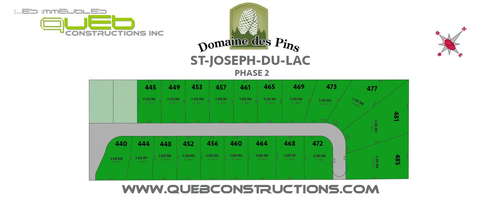 Phase 2 St-Joseph-du-Lac