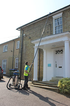 Gutter Clearing Hoovering Vacuuming