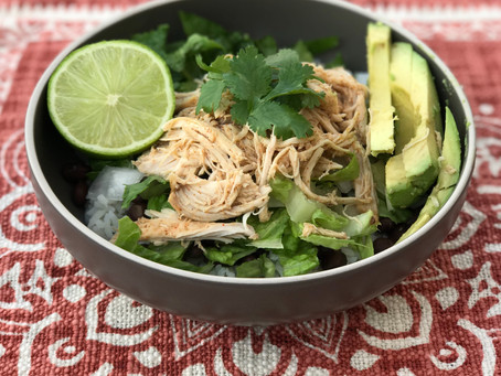 Sunday Meal Prep: Healthy Chipotle Bowls