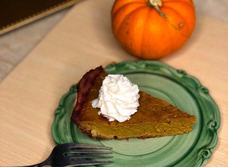 Clean Pumpkin Pie